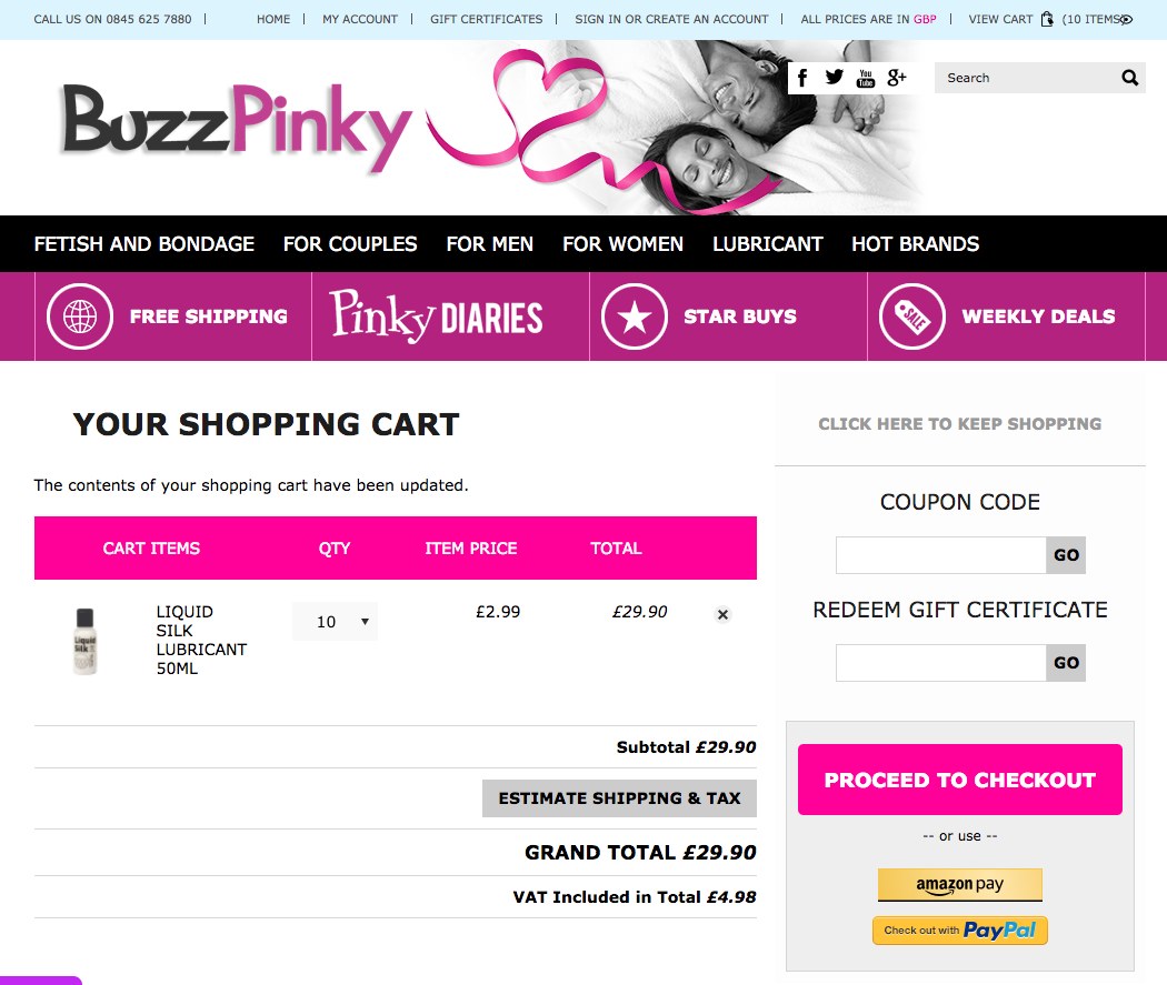 How to use a BuzzPinky coupon code